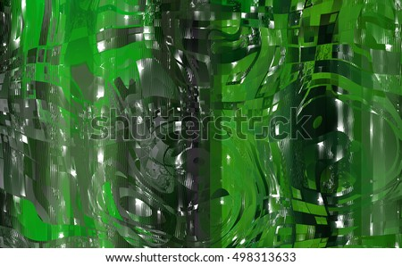 Abstract beautiful green elegant background. illustration beautiful.