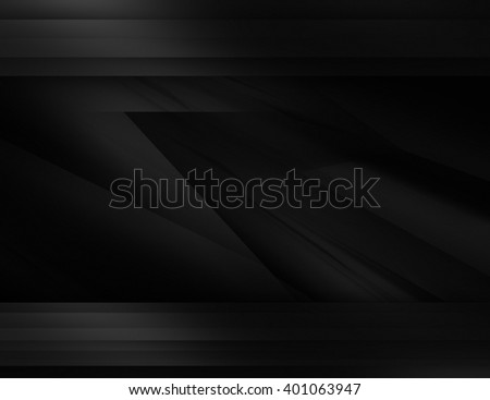 Abstract black background illustration with dark elements
