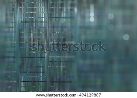 Abstract blue background with bokeh defocused lights. Effective illustration