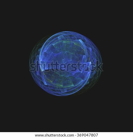 abstract blue colorful background