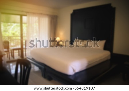 bedroom interior equipped abstract - photo #25