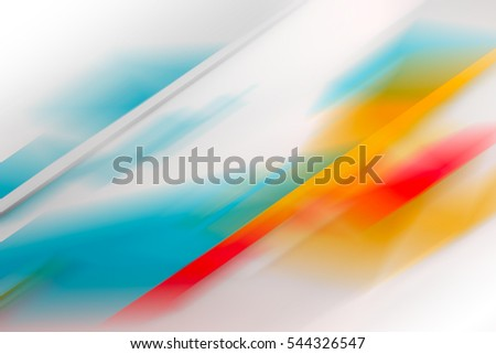 Abstract blurred background with colorful pattern, 3d illustration