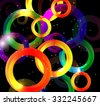 Abstract Bright Background Illustration.  - stock vector