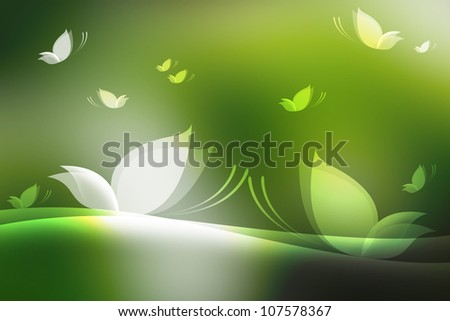 Abstract butterflies background. background design.