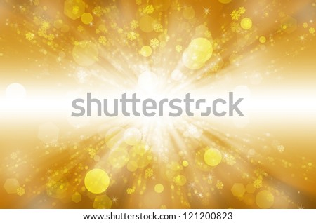 Abstract christmas background with beautiful light.