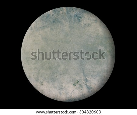 Abstract circle on black background