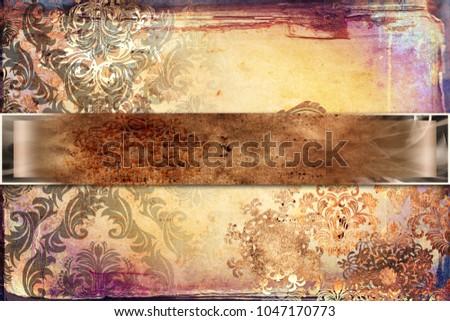 Color Design Art : Color motion series background design streaks stock illustration