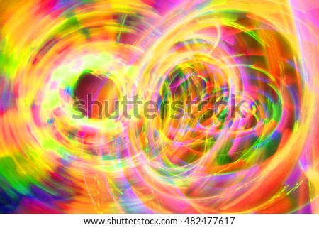 abstract color lights in the dark as nice background