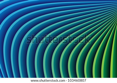 Abstract colored curved lines background