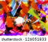Abstract colorful background, texture - stock photo