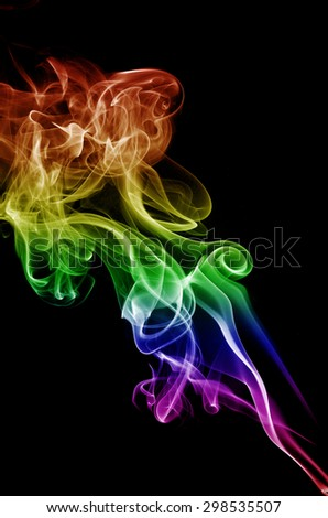 colorful smoke stock photo 306864950 shutterstock