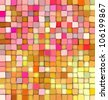 abstract 3d gradient backdrop cubes in happy fruity colors - stock photo