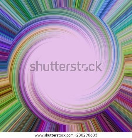 Abstract deep and crazy colorful swirl background