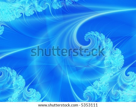 Abstract design of wave