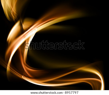Abstract Design Waves Background