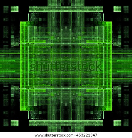 Abstract fractal texture background