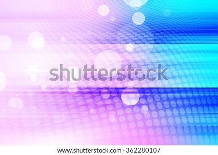 Abstract Futuristic Blue and Pink Soft tones Background Design
