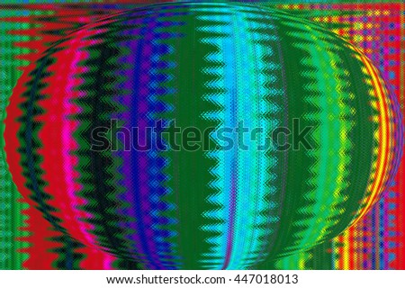 Abstract Futuristic Globe. Art background for creative design.