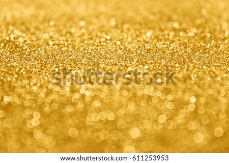 Abstract Gold Glitter Sparkle Confetti Background Stock Photo - Golden gold birthday invitation background
