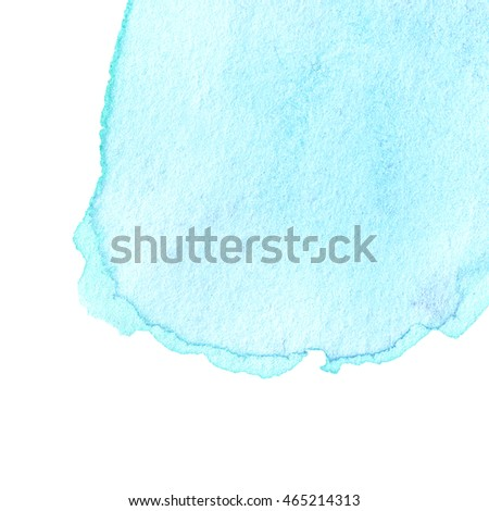 Abstract hand drawn watercolor background.  High resolution watercolour stain