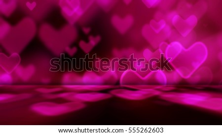 abstract heart shape for background