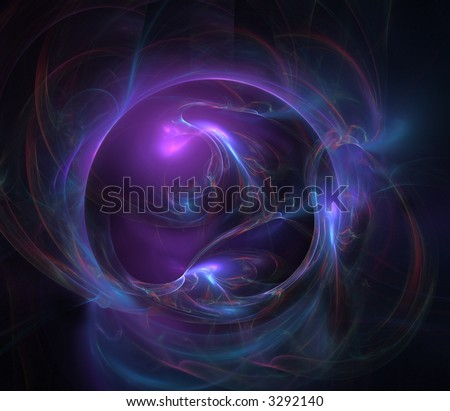 Abstract illustration, could be used in any astrology, astronomy, esoteric, or science context