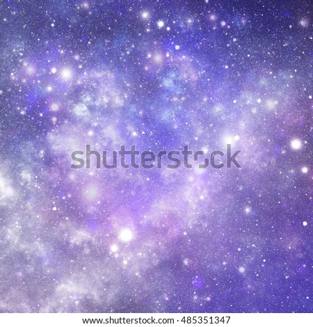 Abstract Illustration Of Universe