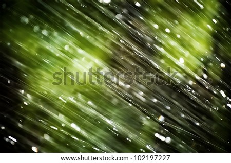 Abstract image of bad weather.