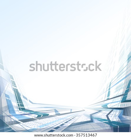 Abstract mesh background lines and shapes on white background