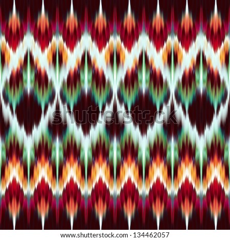 Abstract Modern Ethnic Seamless Fashion Fabric Pattern