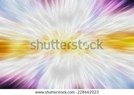 abstract multicolored background. fractal explosion star with gloss and lines