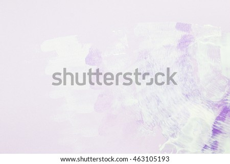 abstract paint color on soft purple  background