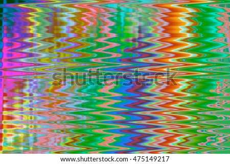 Abstract Psychedelic Colorful. Fractal art background for creative design.