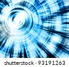 abstract scifi effect - stock photo