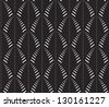 Abstract seamless pattern with a cane-like figure - stock photo