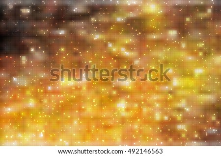 abstract shiny orange background. illustration digital.