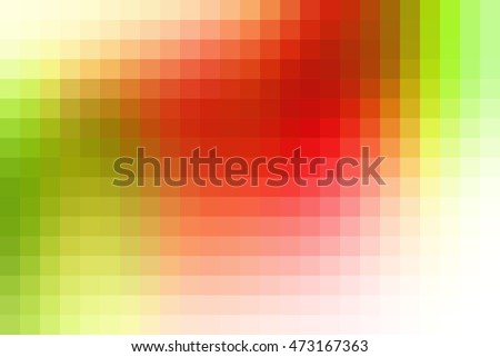 Abstract Smooth Square Mosaic Tile Yellow Stock Vector 558181081