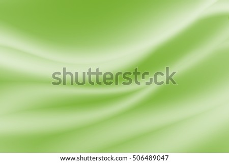 abstract smooth wave background green