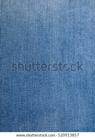 abstract space of blue denim texture