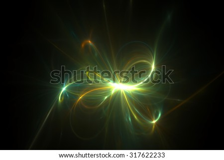 Abstract spark background