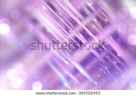 Abstract  violet fractal background with various color lines and strips