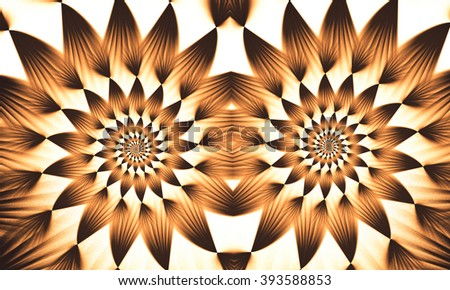 Abstract wallpaper. Abstract fractal. Fractal art background for creative design. Decoration for wallpaper desktop, poster, cover booklet. Abstract texture. Psychedelic. Print for clothes, t-shirt.