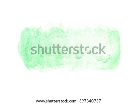 Abstract Watercolor Hand Paint Texture Isolated Stock Illustration ...
