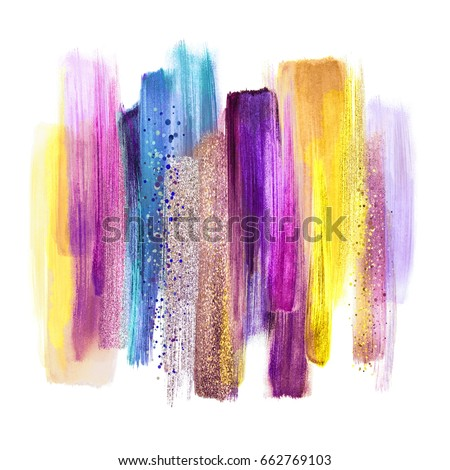 3d Abstract Violet Purple Crystal Background Stock ...
