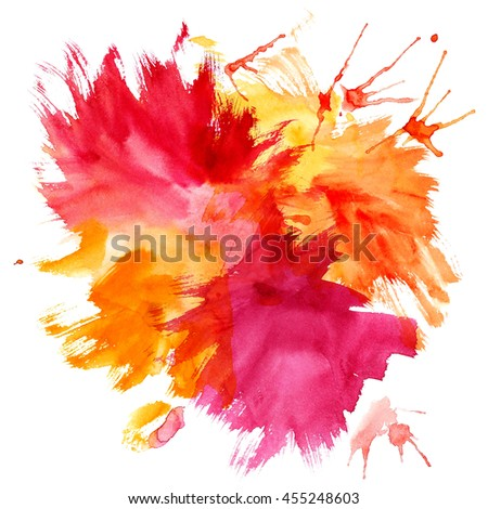 Abstract watercolor texture in grunge style. Element for design.