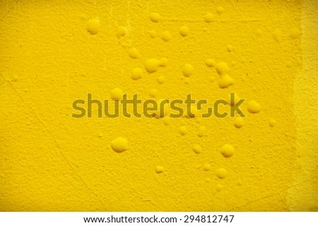abstract yellow wall background