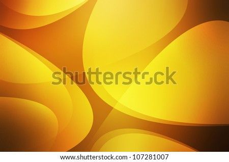 Abstract yellow waves background
