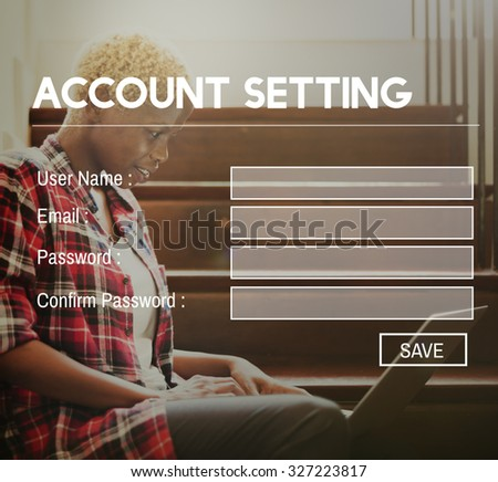 Accounting Setting Application Information Privacy Concept