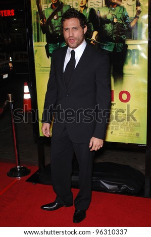 Actor EDGAR RAMIREZ at the Los Angeles premiere of his new movie Domino.  October 11, 2005 Los Angeles, CA.  2005 Paul Smith / Featureflash