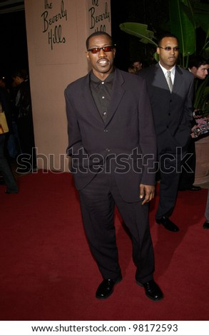 Actor WESLEY SNIPES at pre-Grammy party given by Clive Davis of J Records at the Beverly Hills Hotel. 25FEB2002   Paul Smith / Featureflash